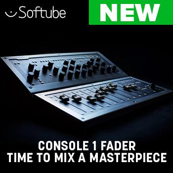 NEW RELEASE: Softube Console 1 Fader