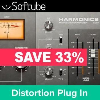 ENDS 31st DECEMBER - Save 33% on Harmonics the new effects plug in from Softube