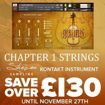 NEW RELEASE: Strezov Sampling Afflatus Chapter 1 - Strings