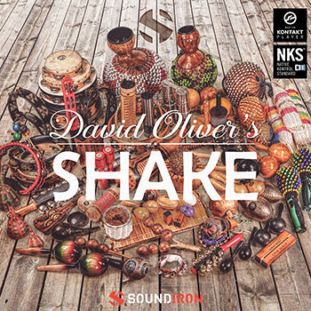 ENDS 2ND FEB - 30% off new Soundiron David Oliver's Shake