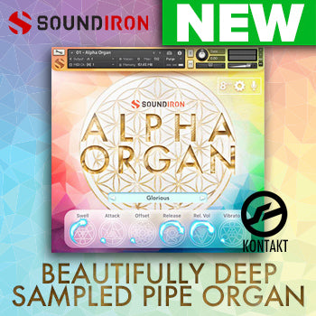 NEW RELEASE: Soundiron release Alpha Organ for Kontakt