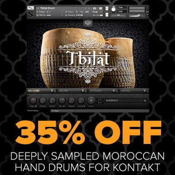 New Release: Soundiron Tbilat Drums