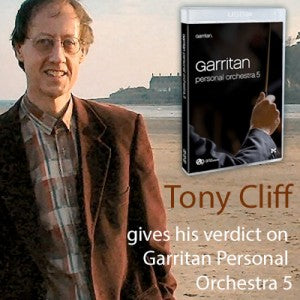 Composer Tony Cliff reviews Garritan Personal Orchestra 5