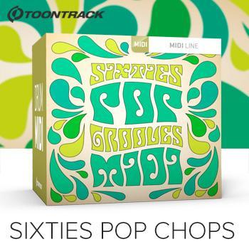 Toontrack release new Sixties Pop Grooves MIDI pack