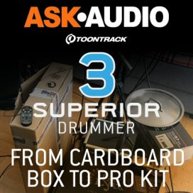 Toontrack Superior Drummer 3 – the ultimate Tracker test