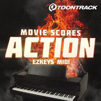 NEW RELEASE: Toontrack EZkeys Movie Scores Action MIDI
