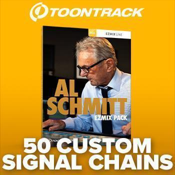 NEW RELEASE - Toontrack's anticipated Al Schmitt EZmix Pack has arrived!