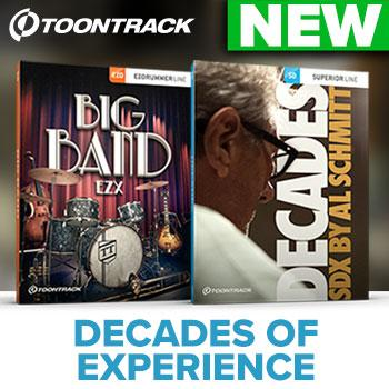 Toontrack release NEW SDX + EZX with the legendary Al Schmitt!