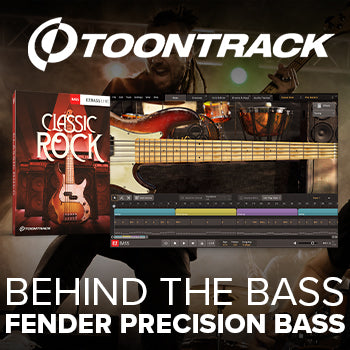 Toontrack EBX Classic Rock: Behind the Fender Precision Bass