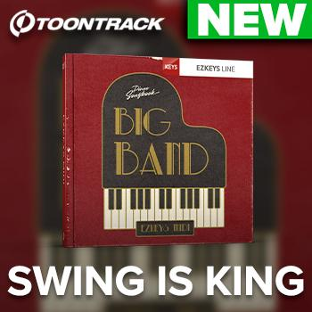NEW RELEASE: Toontrack release Big Band EZkeys MIDI pack
