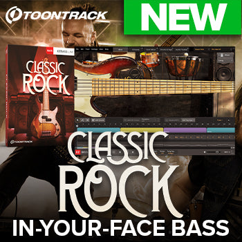 NEW RELEASE: Toontrack EBX: Classic Rock for EZbass