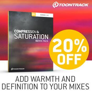 New Release: Toontrack EZmix 2 Compression & Saturation