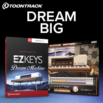 Toontrack release new EZkeys Dream Machine