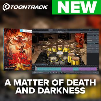 NEW RELEASES: Toontrack release one SDX and two EZXs for Metal Month!