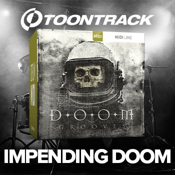 NEW RELEASE: Toontrack Doom Grooves Drum MIDI Pack