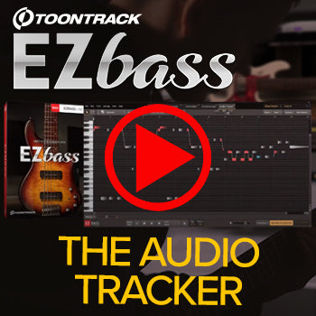 MUST WATCH: Time+Space's Jamie takes a look at Toontrack's EZbass Audio tracker!