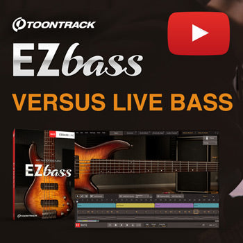 Toontrack EZbass vs live bass - what do you think?