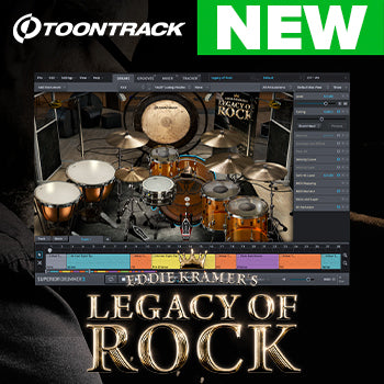 NEW RELEASE: Toontrack SDX: Legacy of Rock
