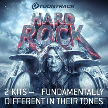 Just Released: Toontrack Hard Rock EZX