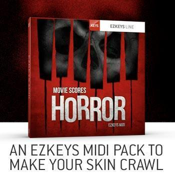 NEW RELEASE: Toontrack EZkeys Movie Scores Horror MIDI pack