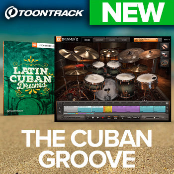 NEW RELEASE: Toontrack Latin Cuban Drums EZX
