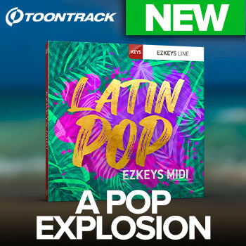NEW RELEASE: Toontrack EZkeys Latin Pop MIDI Pack