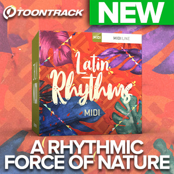 NEW RELEASE: Toontrack Latin Rhythms Drum MIDI