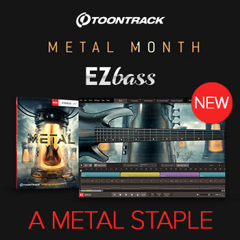 NEW RELEASE: Toontrack EBX Metal for EZbass