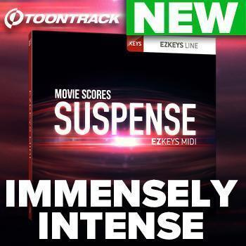 NEW RELEASE: Toontrack EZkeys Movie Scores Suspense MIDI Pack