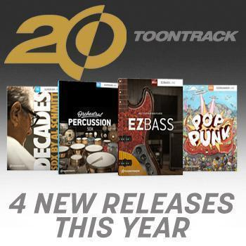 NAMM 2019 - Toontrack announce four new releases
