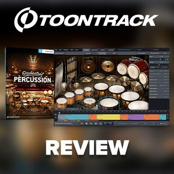 Toontrack - Orchestral Percussion SDX - reviewed by Tony Cliff