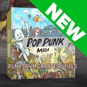 JUST RELEASED: Toontrack Pop Punk MIDI