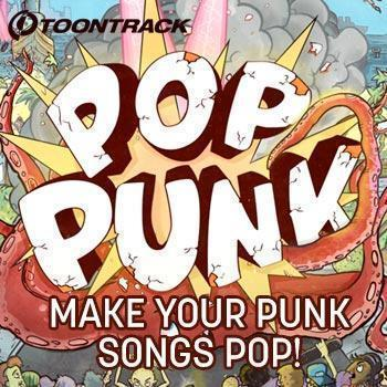 NEW RELEASE: Toontrack Pop Punk EZX