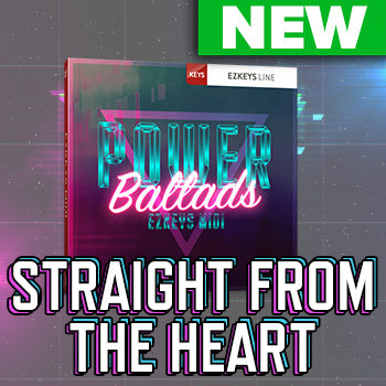 NEW RELEASE: Toontrack EZkeys Power Ballads MIDI Pack