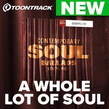 NEW RELEASE: Contemporary Soul Ballads EZKeys MIDI Pack