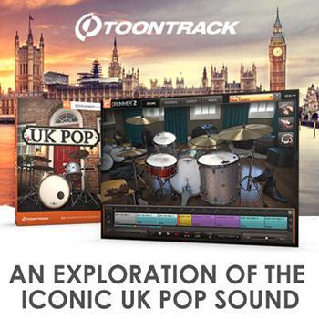 Toontrack release UK Pop EZX for EZdrummer