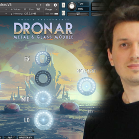 DRONAR Metal and Glass – Behind the Sounds