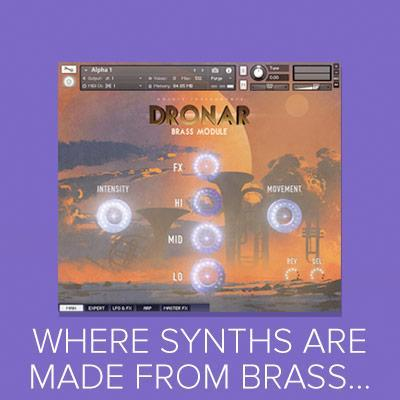 Arriving next week... DRONAR Brass