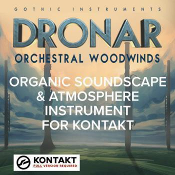 NEW RELEASE: Gothic Instruments DRONAR Orchestral Instruments