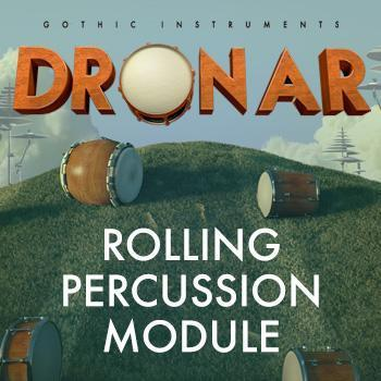 NEW RELEASE: Gothic Instruments release DRONAR Rolling Percussion