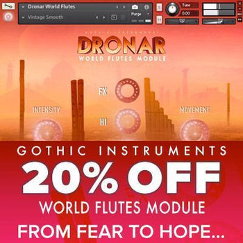 NEW RELEASE: Gothic Instruments release DRONAR World Flutes
