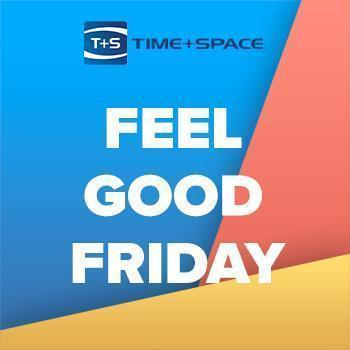 IT'S FEEL GOOD FRIDAY TIME! SOCIAL MEDIA EXCLUSIVE AT TIME + SPACE!!