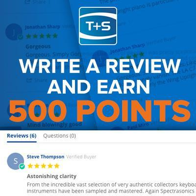 Write a review and earn 500 loyalty points!