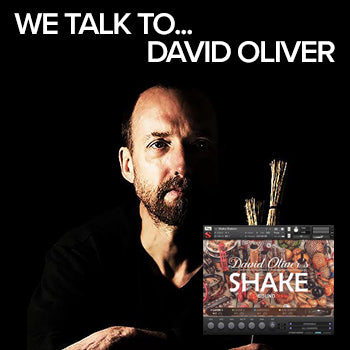 We talk to percussionist David Oliver about his career and recording for Soundiron