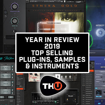 Time+Space Review of the Year – 2019's Top Selling Plug-ins