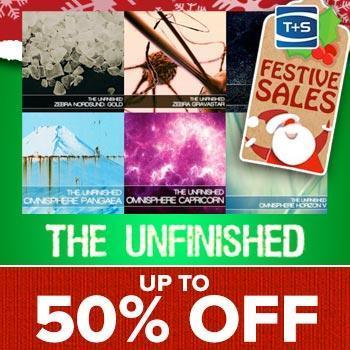ENDS 28TH DECEMBER - Save up to 50% on The Unfinished Virtual Synth Expansions