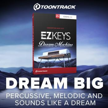 Toontrack - EZkeys Dream Machine - Computer Music 9/10
