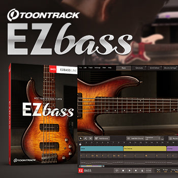 NEW RELEASE - Toontrack EZbass has arrived!