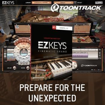 NEW RELEASE: Toontrack EZkeys Cinematic Grand