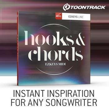 NEW RELEASE: Toontrack EZkeys Hooks and Chords MIDI Pack